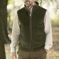 HARVEY - Fleece bodywarmer men