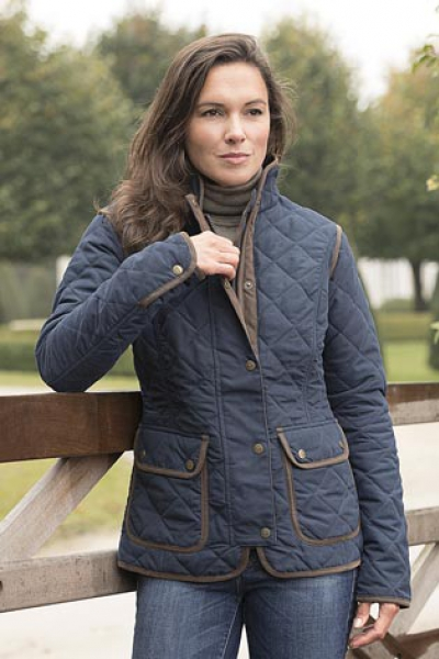 HEPBURN Fashionable quilted ladies jacket