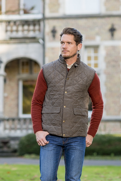 YORK Stylish quilted bodywarmer men