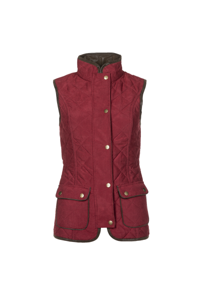 SCARLET Fashionable quilted ladies bodywarmer