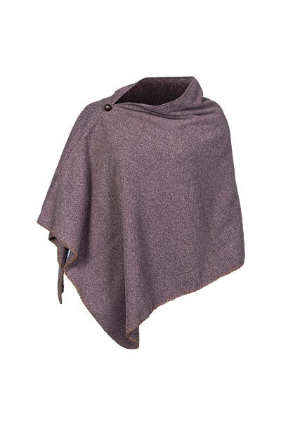 SHIRLEY Baleno fleece poncho