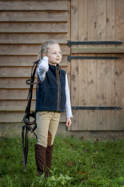 WIZZ Fleece gilet for children