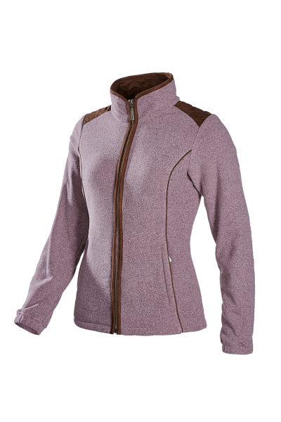 REESE Ladies jacket with a woollook appearance