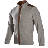 CHARLES - A soft touch fleece with a woollook appearance