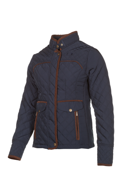 JULIA A lighty insulated jacket, tastefully finished with Corduroy trim