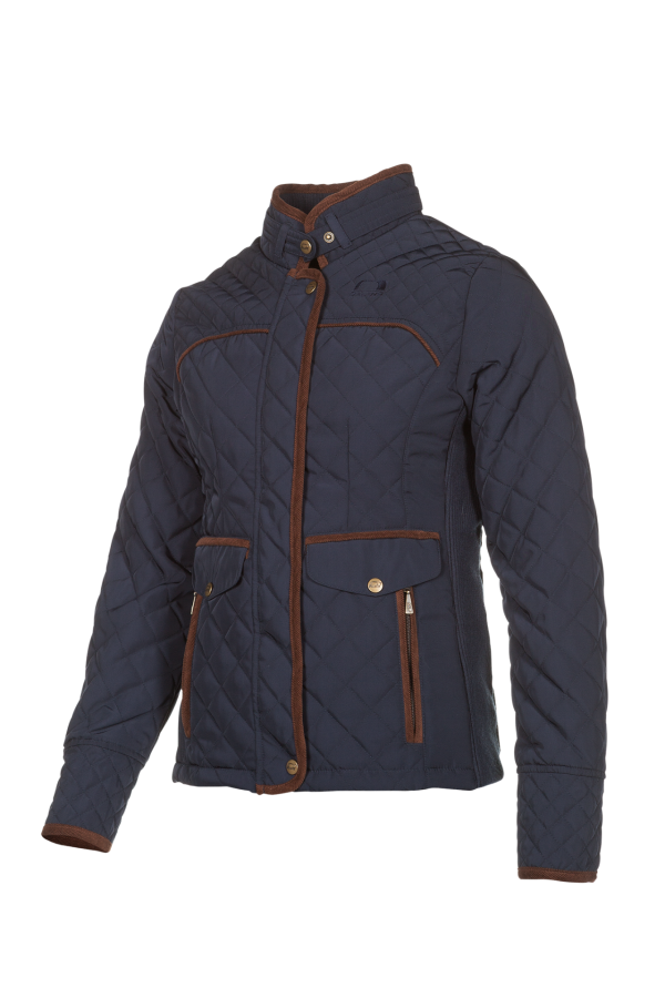 JULIA - A lighty insulated jacket, tastefully finished with Corduroy trim