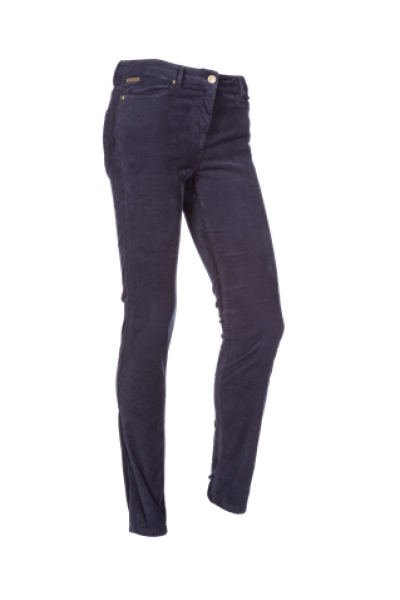 Valerie Straight leg stretch Corduroy trousers
