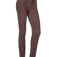Valerie - Straight leg stretch Corduroy trousers