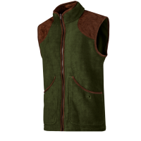NEWINGTON   - Fleece gilet with a classic country look