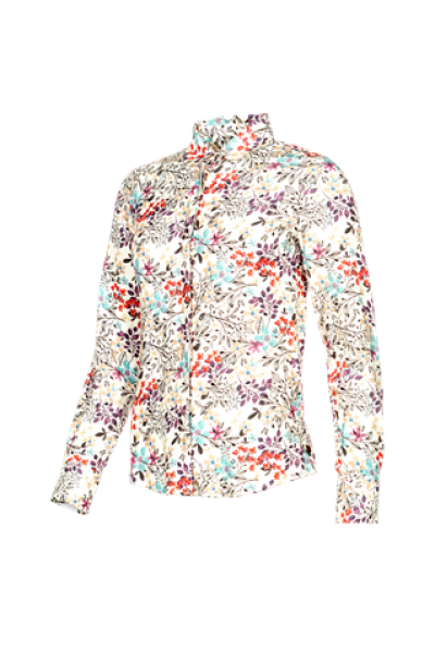 BLOOMFIELD   Cotton Blouse with lovely print