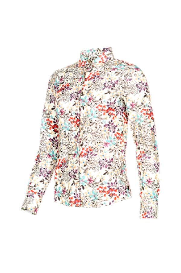 BLOOMFIELD - Cotton Blouse with lovely print