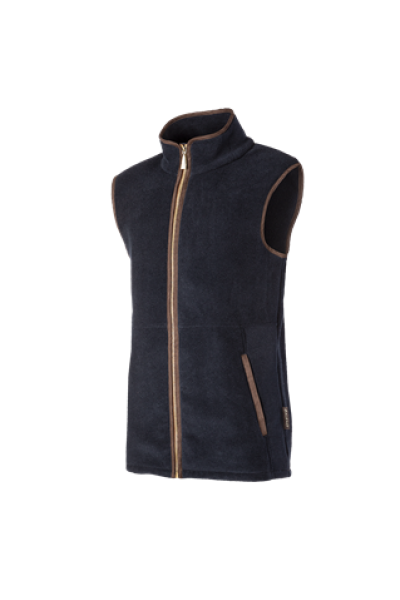 HIGHFIELD A high-end long fleece gilet