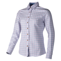 NINA - A classic checked soft shirt for ladies