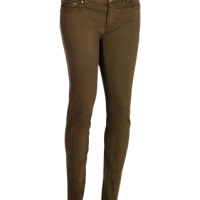 VERSAILLES - A cotton stretch lady 5-pocket trousers