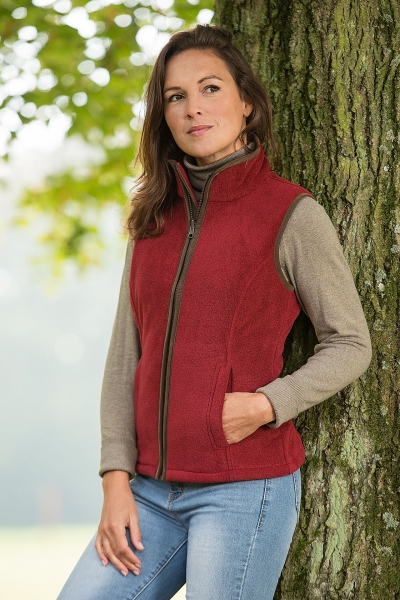 SALLY Fleece bodywarmer ladies