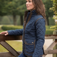 HEPBURN - Fashionable quilted ladies jacket